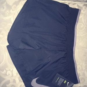 NWT Nike black and grey workout dri fit shorts